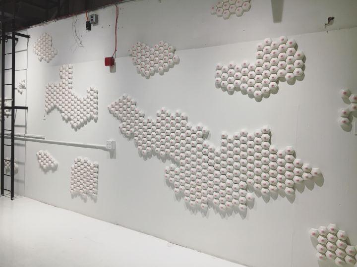 Nicole Nadeau tile installation