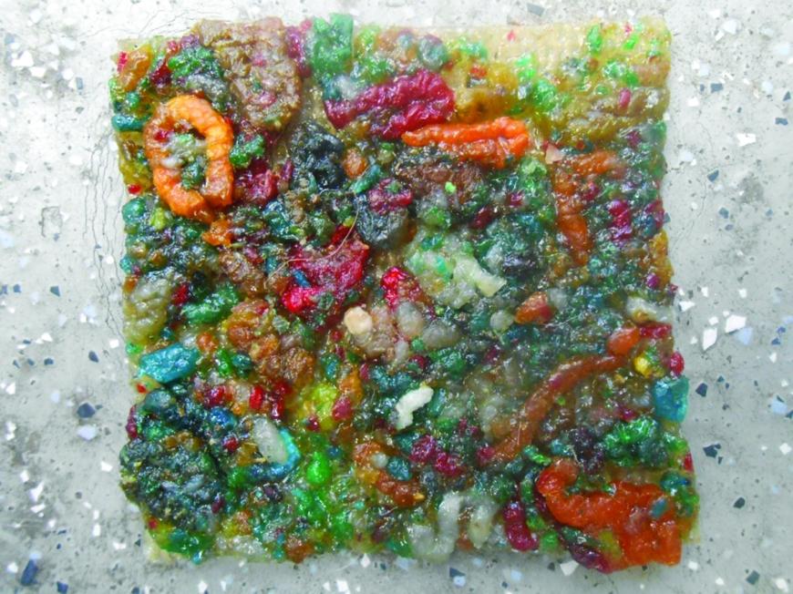 Multicoloured Snail Poo Tiles