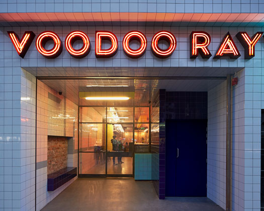 Voodoo Ray's, Dalston, London