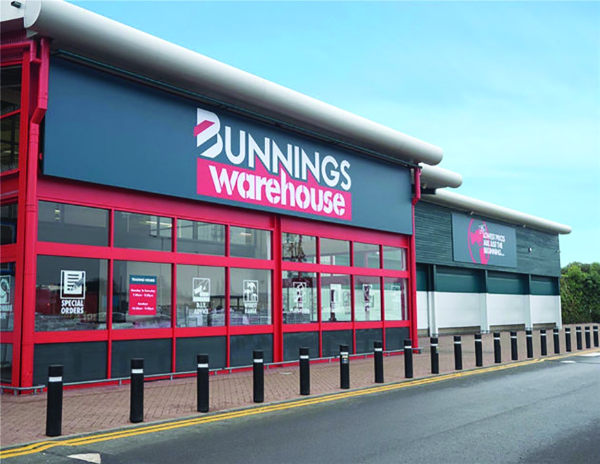 The new Bunnings Warehouse in St Albans