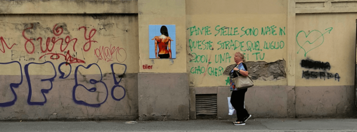 Street art by Tiler