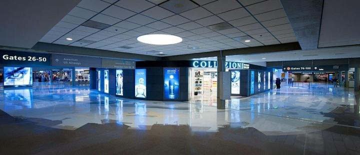Pittsburgh Airport's terrazzo floor