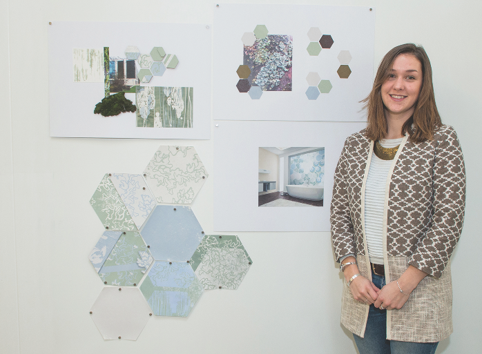 Plymouth College of Art student Hannah Seward