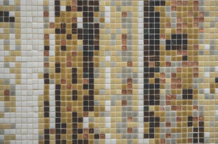 Snowbird mosaic by Artaic and Bostik