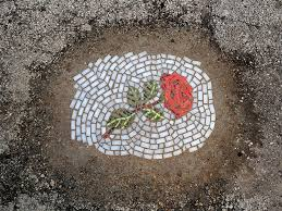 Bachor, Flower Pot Holes, Rose (gone) 2014