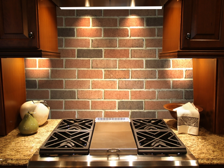 Royal Thin Brick splashback