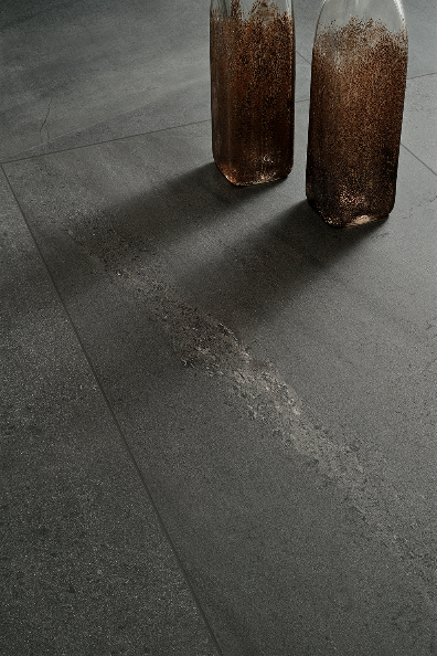 Ceramiche Coem's Brit Stone Graphite in 600 by 1,200mm