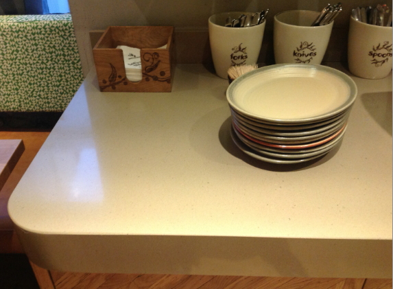 Silestone Toffee countertop, Nando's Bayswater