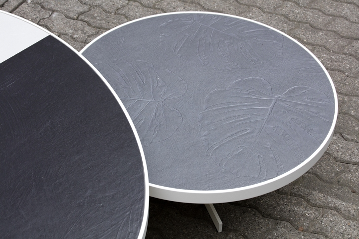 Talk table featuring Abitare la Terra by Cerasarda