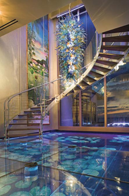 Underwater mural installation by Mizner Industries