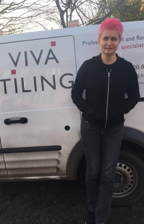 Tiler of the Year 2017, Sharon Taylor, Viva Tiling