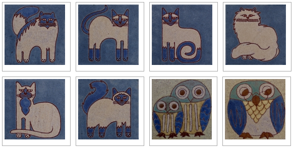 Animal designs by Frauwein Soenveld, Atelier Het Blauwe Hek