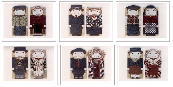 Costume designs by Frauwein Soenveld, Atelier Het Blauwe Hek