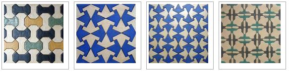 Spanish designs by Frauwein Soenveld, Atelier Het Blauwe Hek
