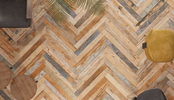 Melvin wood-effect tile by SomerTile
