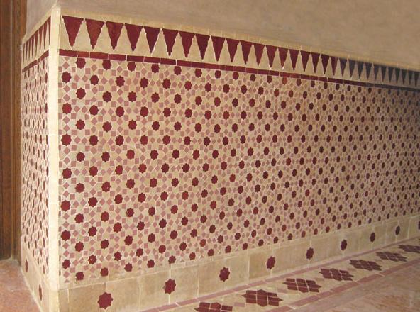 Almaviva's zellige design