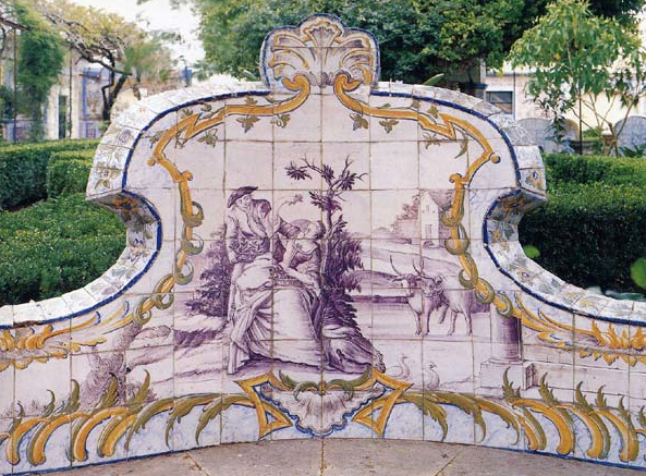 Garden seat by Alamaviva