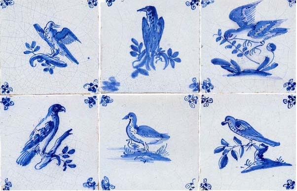 Almaviva Delft tile