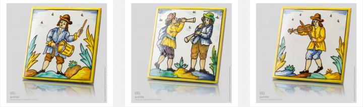 Musician tiles by BenSu.