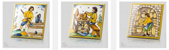 traditional craft ceramics.