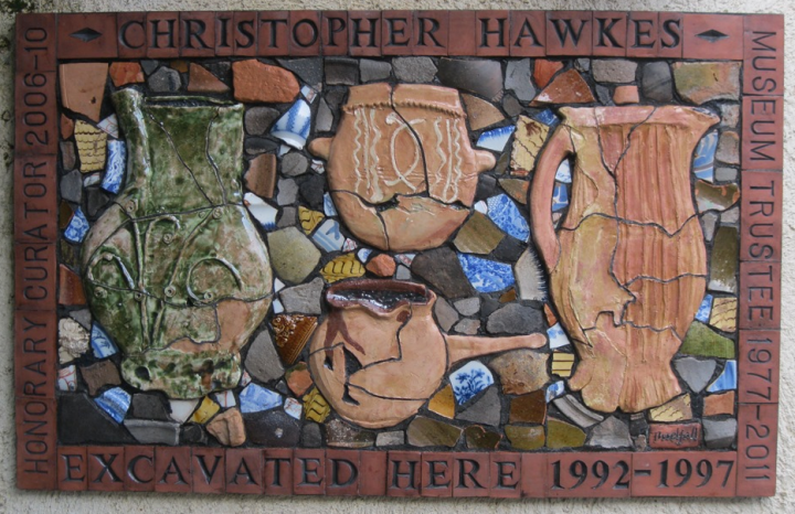 Chris Hawkes Panel, 2011, by Philippa Threlfall.