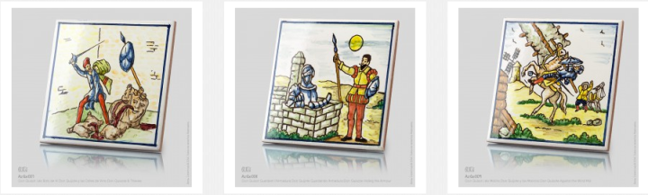 Don Quixote tiles by BenSu.