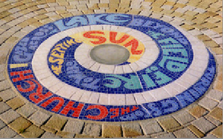 Gosport mosaic by Jan O'Highway.