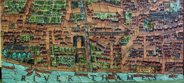 London in the 16th Century, 1972, by Philippa Threlfall and Kennedy Collings.
