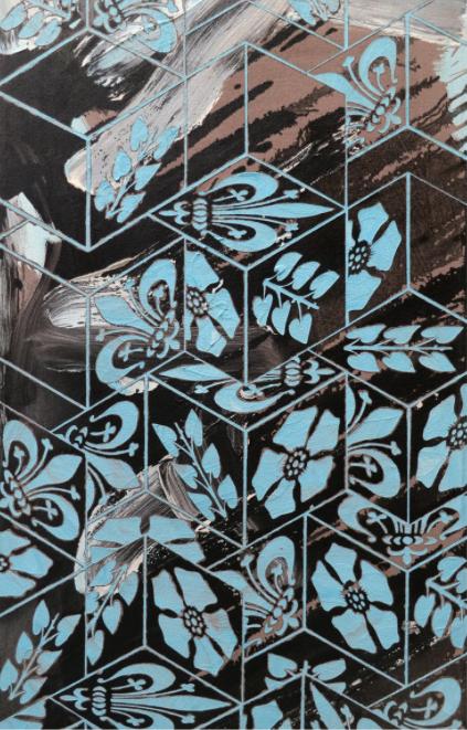En Avant (detail) by Robert Dawson