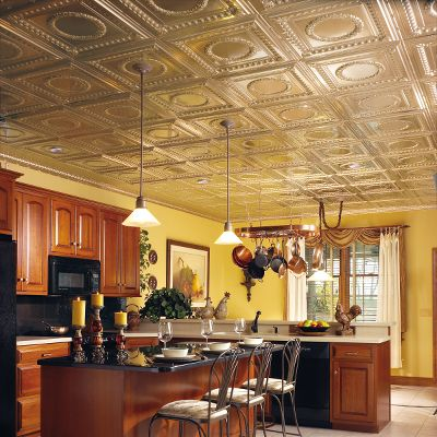 Ceiling tiles by Armstrong Metallaire