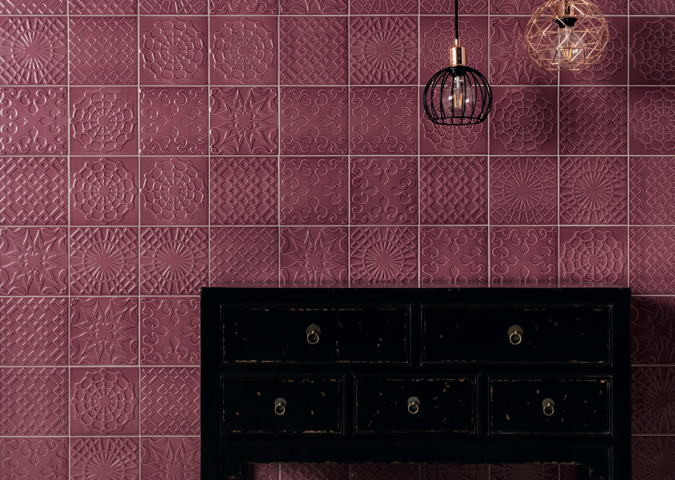 Flow in the new Vigo colour by Eliane's Decortiles.