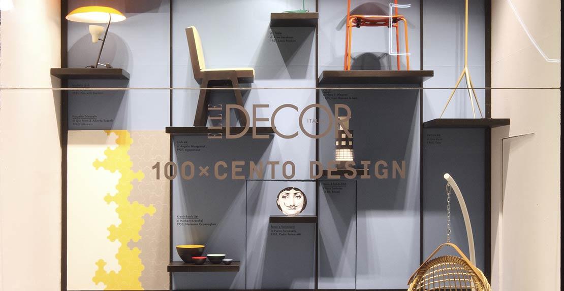 La Rinascente project created by Elle Decor and Elisa Ossino Studio.