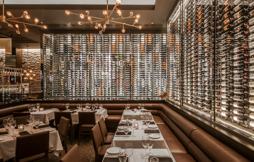 Ocean Prime restaurant in Naples, Florida. Tiles by Ceramiche Piemme.