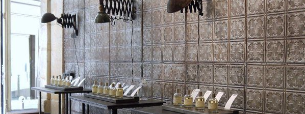 Tin tile splashback