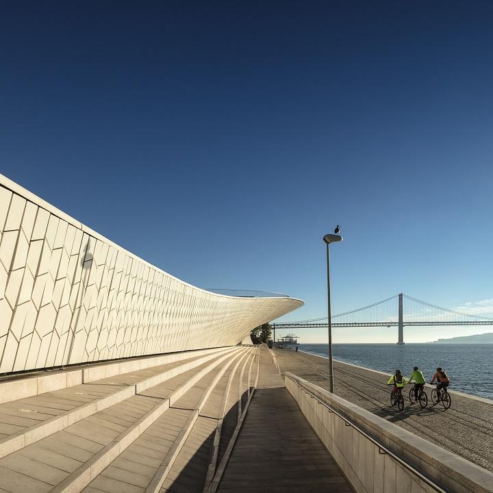MAAT Lisbon, designed by Amanda Levete Architects