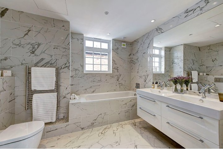 Ceramiche Caesar's Anima range was used in the stunning Chelsea home.