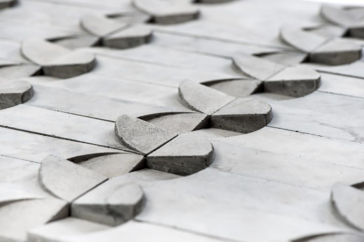 STACtile by Snaith Thrush Architect Collaborative, available from Pentagon Tiles
