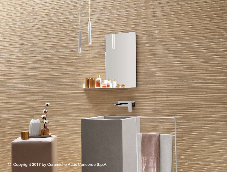 NID textured wall decor by Atlas Concorde
