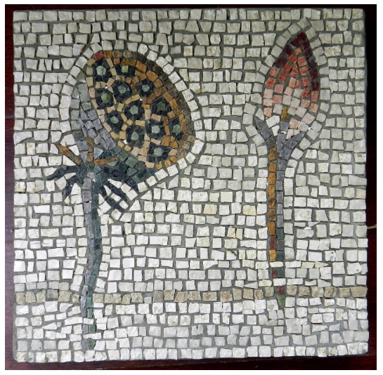 Helen Miles' copy of Nilotic mosaic
