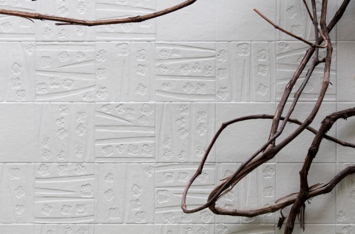Abitare la Terra by Cerasarda: Bianco Tracce