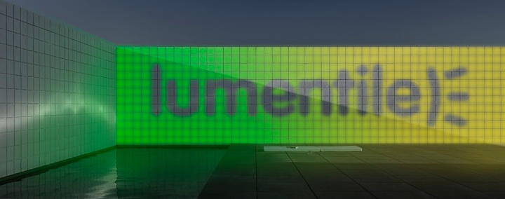 Lumentile: A multifunctional electronic luminous tile