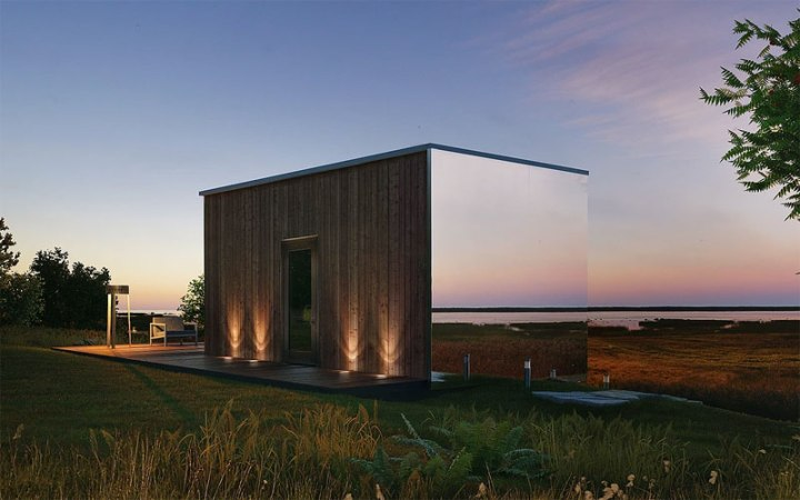 Oodhouse: a pod home / hotel cabin with serious style credentials.