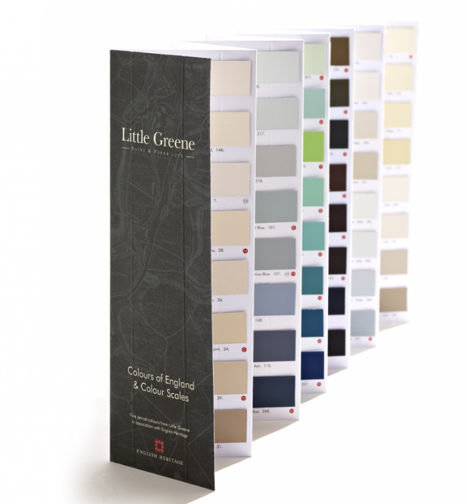 Little Greene's Colours of England