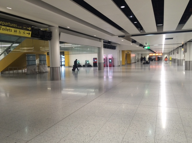 DMC Contracts installation at Gatwick airport