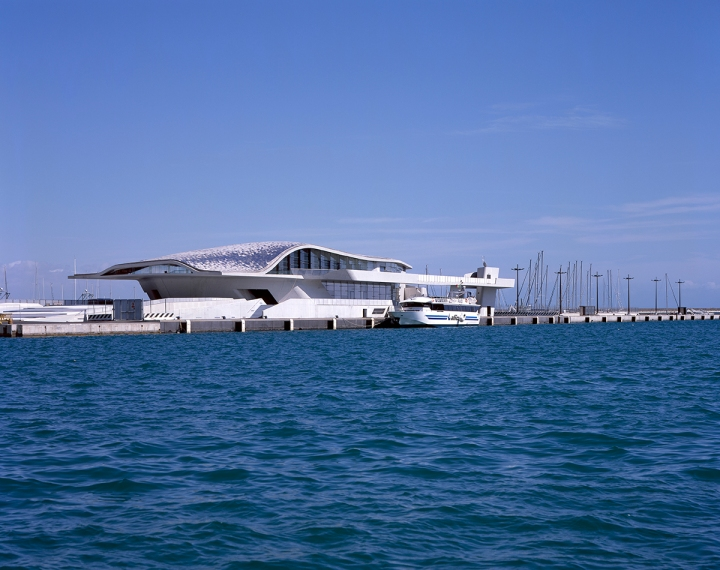 The Oyster: Salerno's scupltural ferry terminal designed by Zaha Hadid