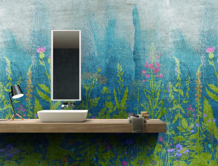 ABK's Wide & Style: Botanical Blue