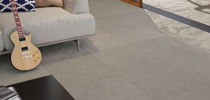 Backstage tile, 600 by 1,200mm, by Ceramica Portinari