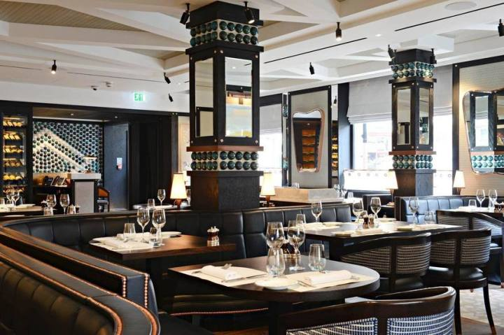 The Margot restaurant, Covent Garden