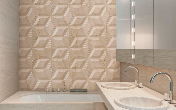 Diamonds Aurea Beige by Bouquet Ceramica