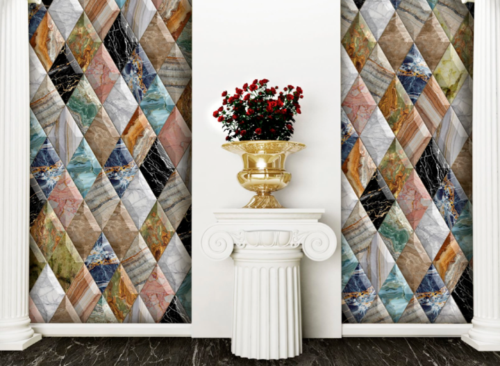 Diamonds Aurea Multicolor by Bouquet Ceramica